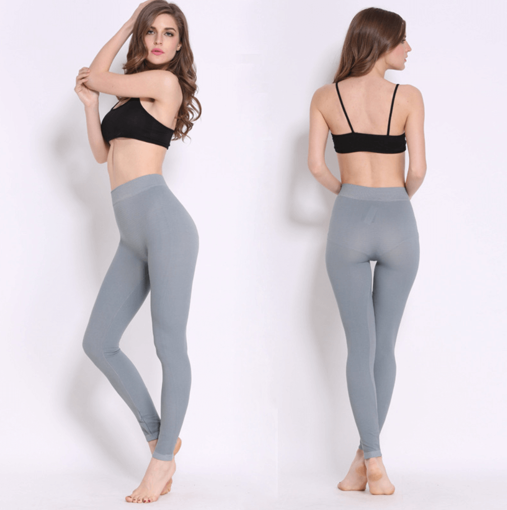 difference between yoga pants and leggings - thin leggings example