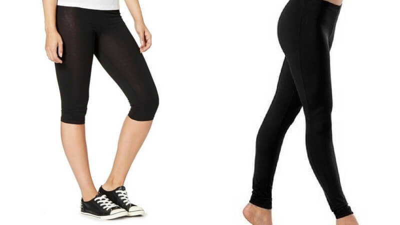 leggings length examples
