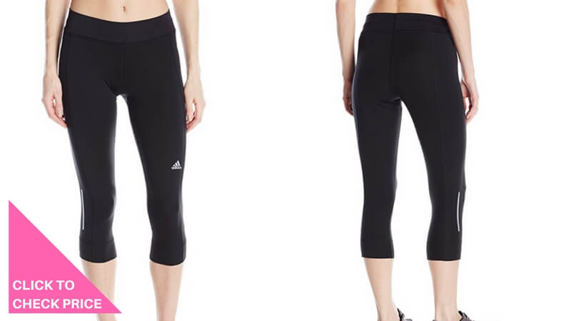 adidas Performance Women's Sequencials Running Three Quarter Tights