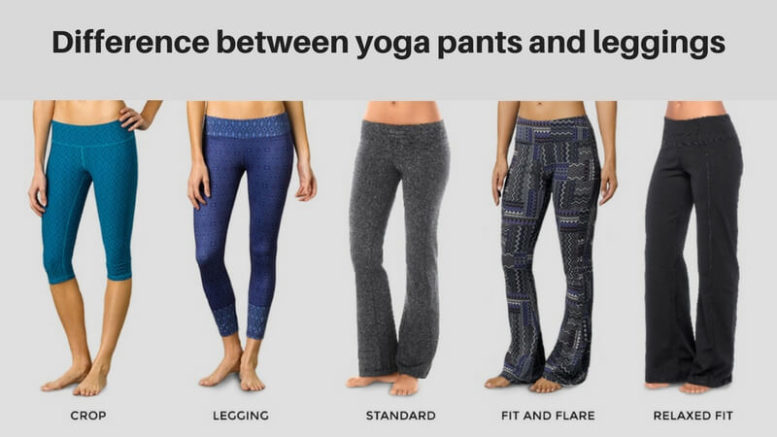 d833daafac The Difference Between Yoga Pants And Leggings Explained