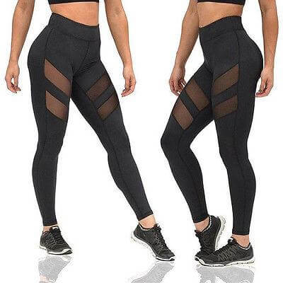 skin fit yoga pants fit