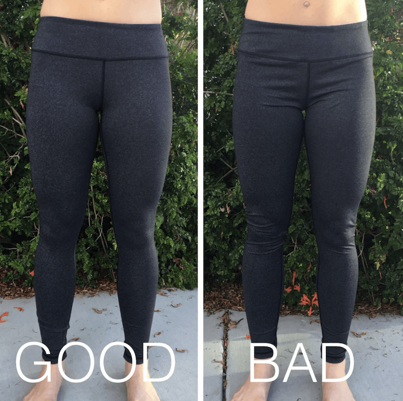 3b3c1933e81d0 How Should Leggings Fit. How Tight Is Too Tight