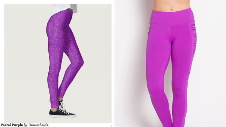 4bedf368c7a7d 17 Purple Leggings For People Who Live By The Color